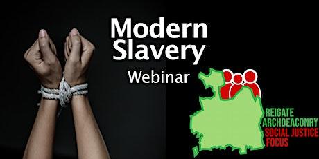 RASJF Modern Slavery Webinar tickets