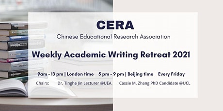 CERA Weekly Academic Writing Retreat 2021 tickets
