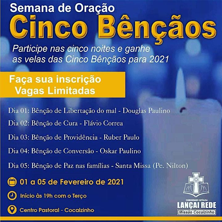 Imagem do evento Semana de Oração (Cinco Benções)