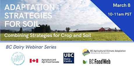 Combining Strategies for Crops and Soil in a Changing Climate tickets