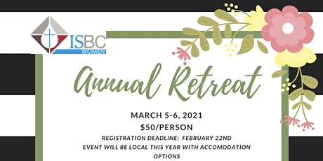 2021 ISBC Women's Retreat tickets