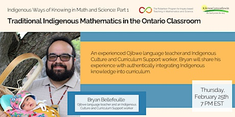 Indigenous Ways of Knowing Math and Science - Part 1 tickets