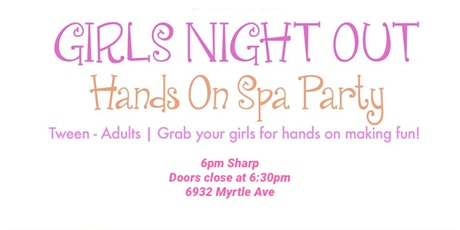 "Ladies Night ""Sip & Facial tickets"