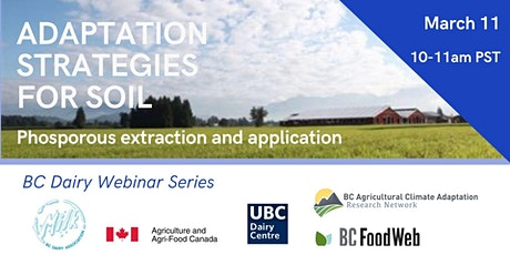 Phosphorus Extraction and Application Timing on BC Dairy Farms tickets