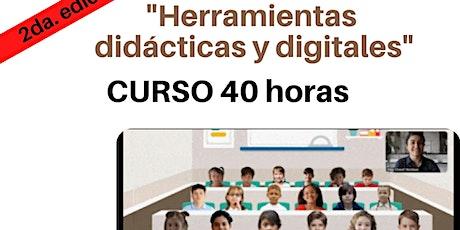 Herramientas didácticas y digitales para impartir clases virtuales boletos