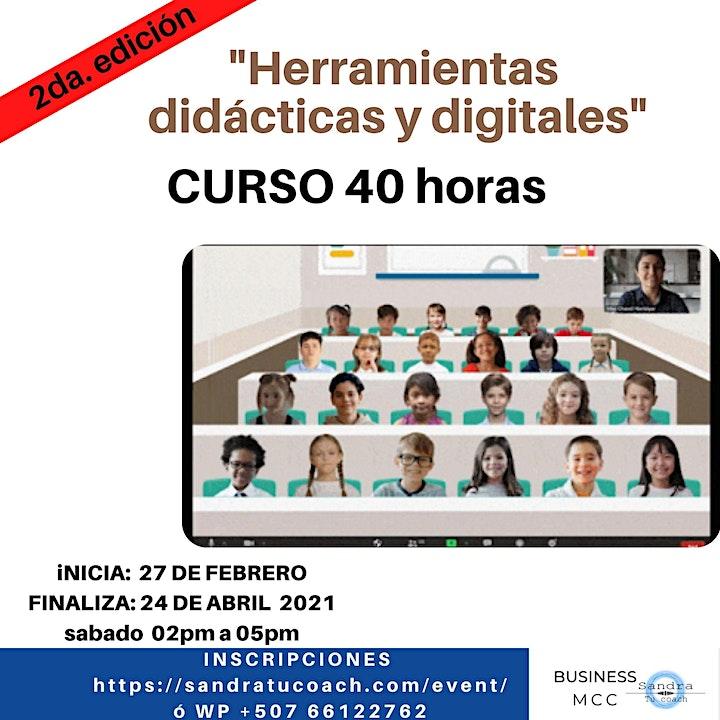 Imagen de Herramientas didácticas y digitales para impartir clases virtuales