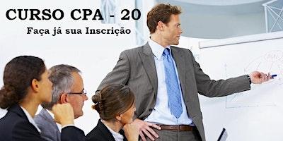 Curso Preparatório - CPA-20 - Aulas aos Sábados