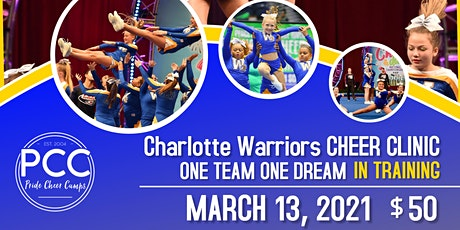 Charlotte Warriors Cheer Clinic tickets