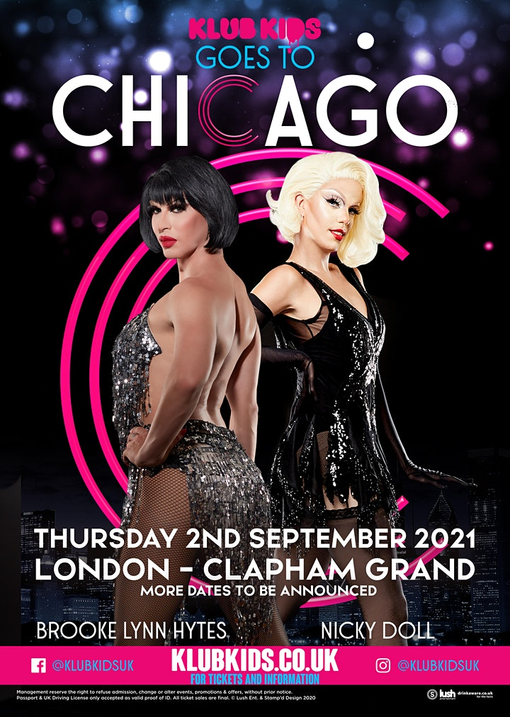 Klub Kids London Presents: CHICAGO (Feat BrookeLynn & Nicky Doll (ages 14+) image
