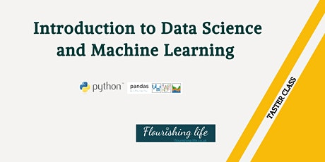 Introduction to machine learning with python (classification algorithm) tickets