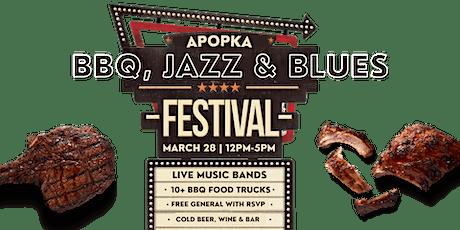 BBQ, Jazz & Blues Festival tickets