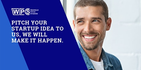 Pitch your startup idea to us, we'll make it happen. entradas