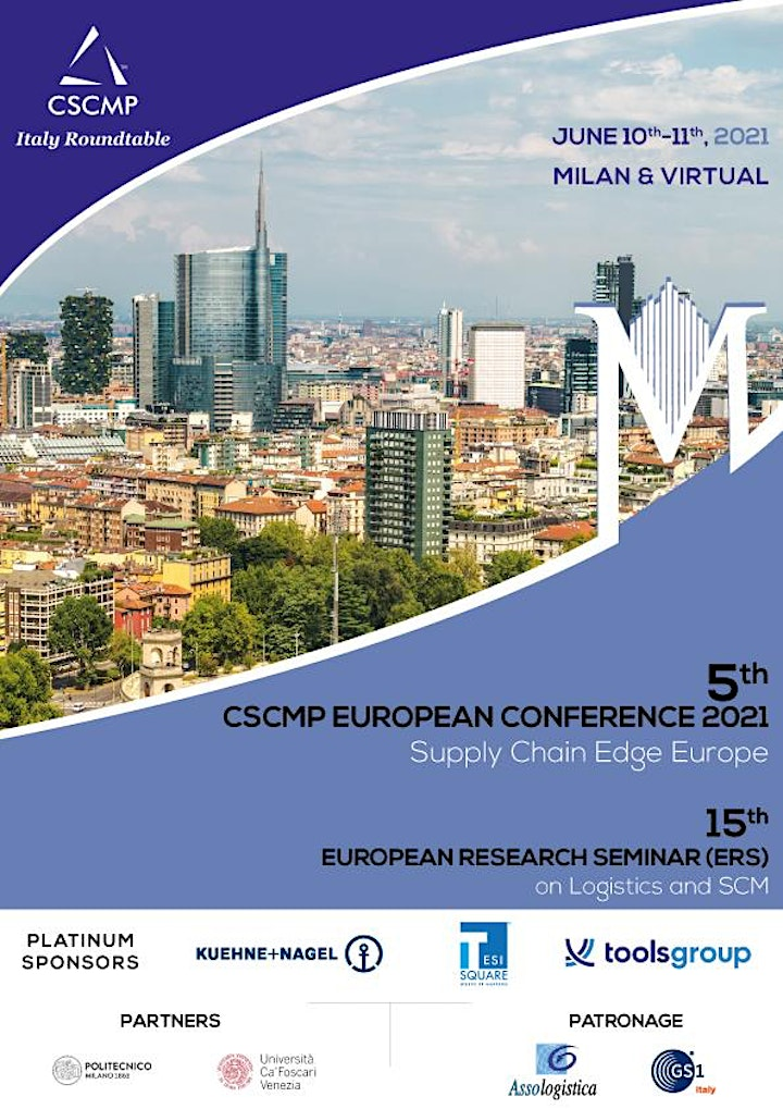 Immagine CSCMP European Conference + European Research Seminar  = ITALY 2021