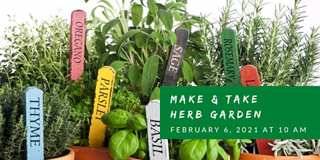 Make & Take: Herb Garden tickets