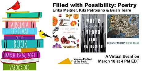 Filled with Possibility: Poetry tickets