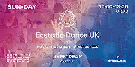 Ecstatic Dance UK - SUN•DAY Livestream tickets
