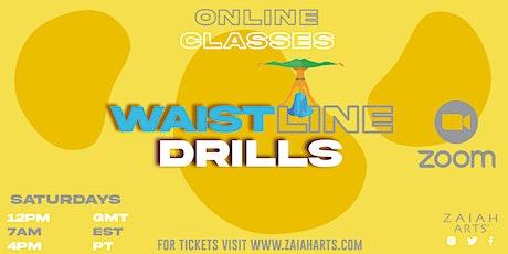WAISTLINEDRILLS! ONLINE SOCA FITNESS CLASS tickets