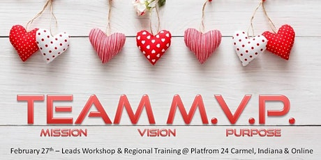 February Lead Workshop & Team MVP Regional Event tickets