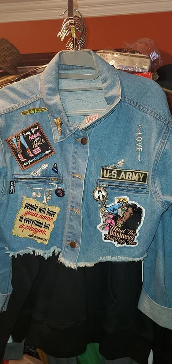 Denim Patches & Mimosas Pop Up Shop image