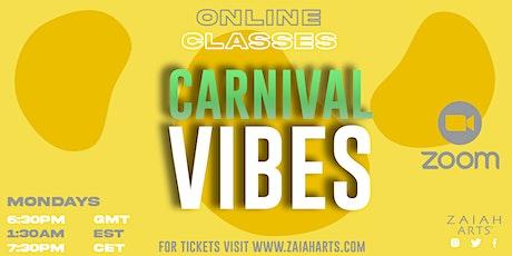 CARNIVALVIBES! ONLINE SOCA DANCE CLASS tickets
