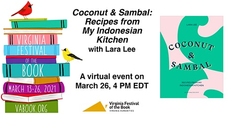 Coconut & Sambal: Recipes from My Indonesian Kitchen with Lara Lee tickets