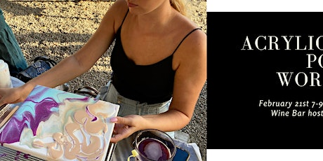 Acrylic Paint Pouring Workshop tickets