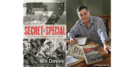 Library online: Will Davies presents 'Secret and Special' tickets