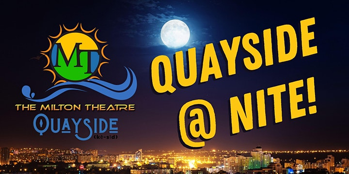 Quayside @ Nite with Lower Case Blues image