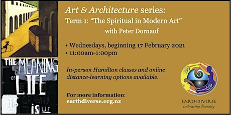 """The Spiritual in Modern Art"", an 8-week course with EarthDiverse tickets"