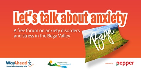 Let's Talk about Anxiety - Bega Valley tickets