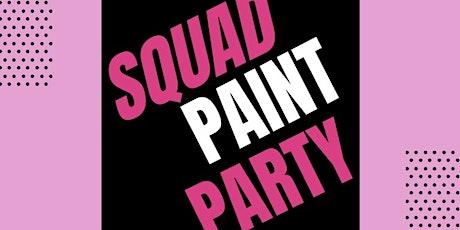 CANVAS DOLLS SQUAD PAINT PARTY tickets