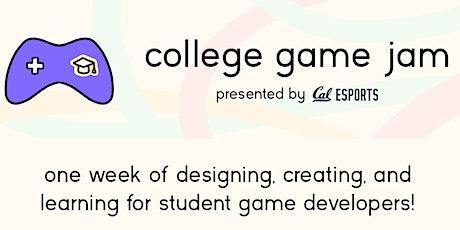 College Game Jam biglietti