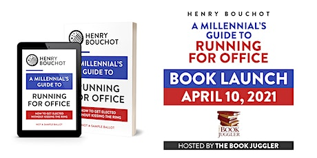 A Millennial's Guide to Running for Office Book Launch Tickets