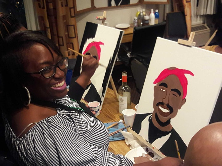 Black Legends Paint Night image