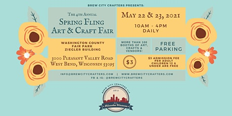 4th Annual Spring Fling Art & Craft Fair tickets