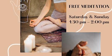 Meditation & Pranayama  LIVE STREAM Tickets