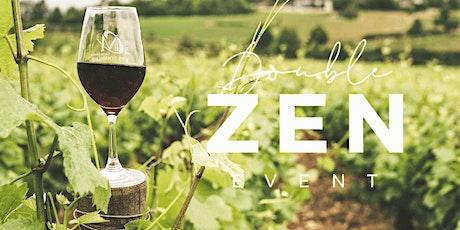 Double Zen: Yoga + Wine Retreat at the Overflow Estate tickets