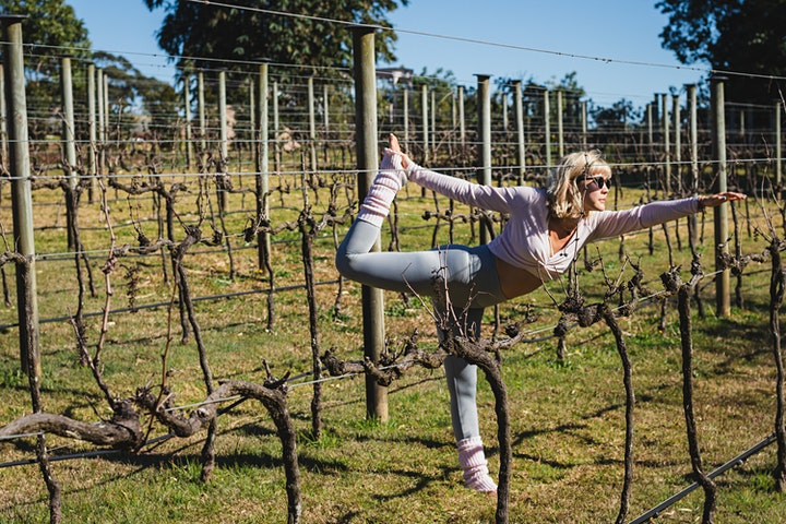 Double Zen: Yoga + Wine Retreat at the Overflow Estate image
