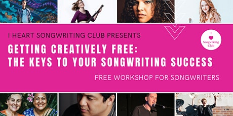 Free Songwriters Workshop - LIVE STREAM WEBINAR! tickets