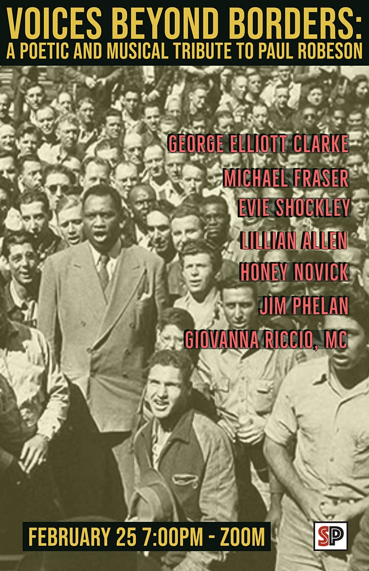 Voices Beyond Borders: A Poetic and Musical Tribute to Paul Robeson image