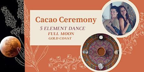 Cacao Ceremony- FULL MOON _ Gold Coast tickets