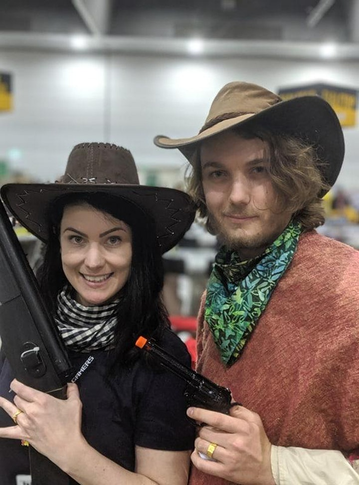 One-Shot Western Convention Megagame at Oz Comic Con Pop Up Sydney! (FREE) image