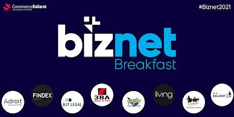 March Biznet Breakfast - Clare Desira tickets