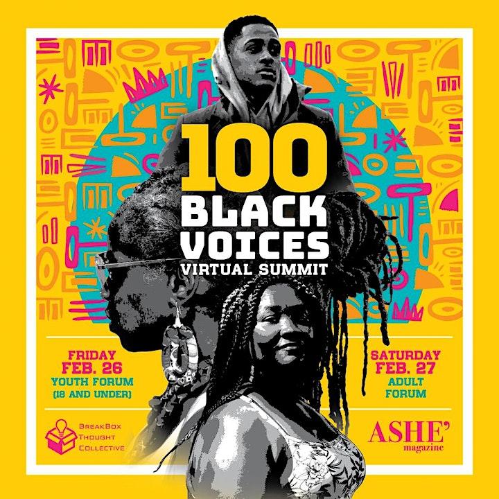 100 Black Voices Virtual Summit image