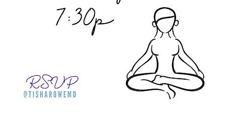 Yoga with Tisha tickets