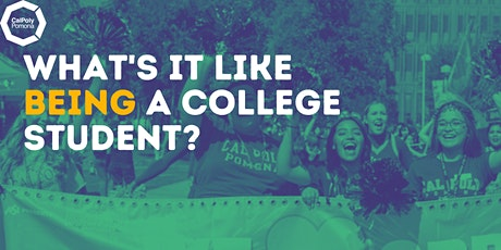 CPP Virtual Presentation  - What's It Like Being a College Student tickets