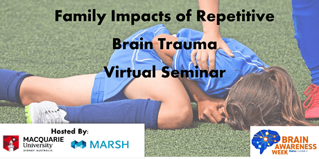 Family Impacts of Repetitive Brain Trauma Virtual Seminar tickets