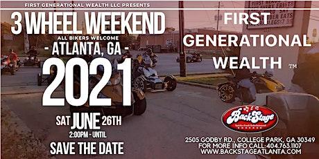 3 Wheel Weekend (Atlanta, GA) tickets