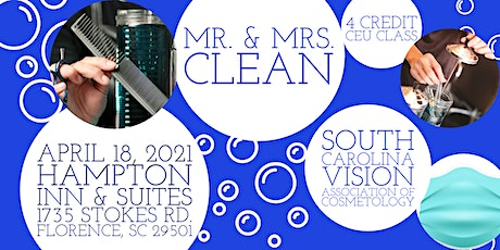Mr. & Mrs. Clean - Infection Controls tickets