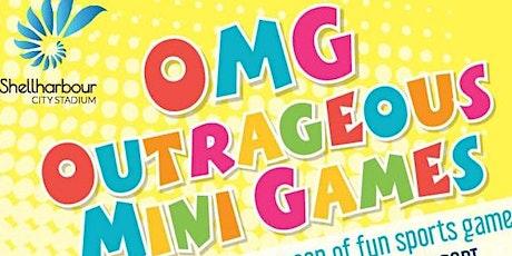 Shellharbour City Festival of Sport Outrageous Mini Games tickets